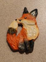 fox pendant1 by AlieTheKitsune