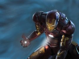 Iron Man speedpainting by speedy-painter