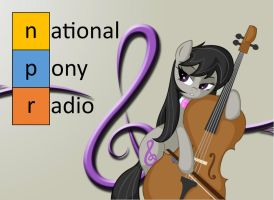 Octavia approves of NPR (National Pony Radio) by mgwach
