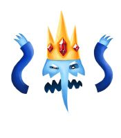Annoyed Ice King by yohunny