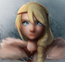 Astrid httyd2 by VanillaKeyblade