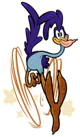 Cartoon Network Collab - Roadrunner by WHATiFGirl
