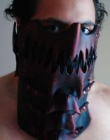 Chrono Dragon Assassin Mask 1 by Epic-Leather