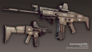 HIDE - Scar-H by Korann