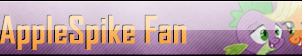 Fan Button: AppleSpike Fan by SilverRomance