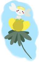 Flabebe and the Winter Aconite
