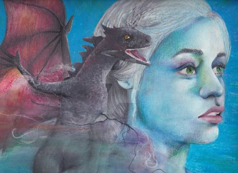 Mother of Dragons by Akane-OTaku