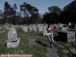 Running in the graveyard by MasterCyclonis1