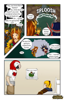 LoL Comic Contest - Baron Nashor's Pit by DragonBladerX