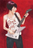 Rock the Vote by Luciariasbuiles