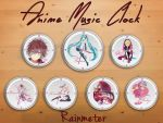 Anime Music Clock 1.0 by AzizStark
