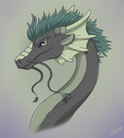 Eastern Dragon by OEmilyThePenguinO