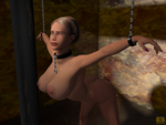 Chains and boobs by BazanArt3D