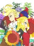 Ringabel X Edea:World of Scattering Flowers by ClaireRoses