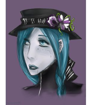 .:Henrietta Bust- AT:. by DeadMenace