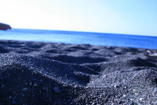 Black Sand Beach by janae-nay