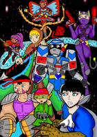 REVO GUARDIANZ Group Shot Colored by veekaizhanez