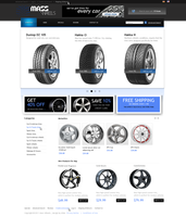 Web Design - Mass Wheels by Shizoy