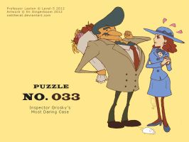 Puzzle 033 - Inspector Grosky's Most Daring Case by nattherat