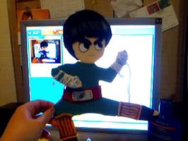 Naruto: Rock Lee 3D Flat Doll by Sookybabi