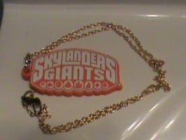 Skylanders-Custom Gold Chained Necklace by KrazyKari