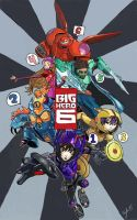 Big Hero 6 by ScarletH0pe