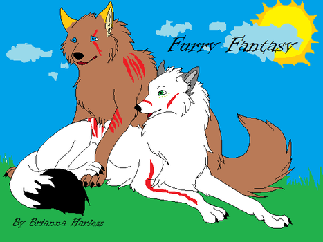 Furry Fantasy Cover by GriffinsDeadlyHeart