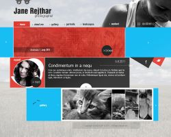 Jane website by fOXBLASTER