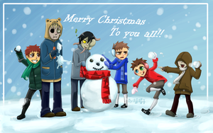 Merry X'mas to you all :D by aulauly7