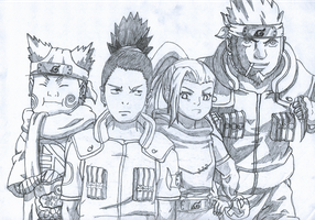 Team 10 - Naruto by GeijutsuCentral