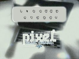 Pixel Hand Cursors by PrettyLadySwag