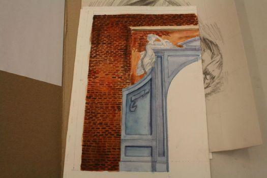 Architecture in Watercolor by ChaosShattered