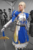 Saber - FateStay Night 2 by melissa-andrade