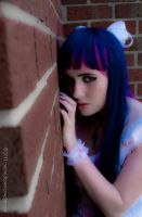 Stocking Against the Wall by EmeraldCoastCosplay