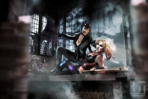 Somewhere in Arkham City by jaytablante