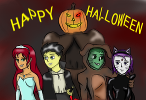 Happy Halloween Titan style 2013 by 6stringRaven