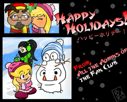 //Happy Holidays - From GG-FC// by BKcrazies0