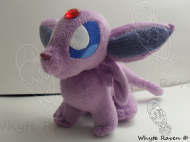 Espeon Plushie Giveaway by Whyte-Raven