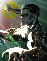 N Is For Namor by MatthewRoyale