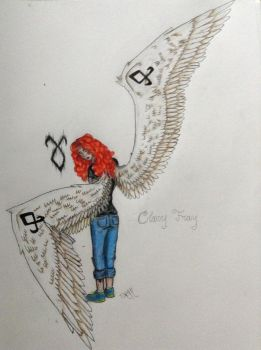 Clary Fray by Tora-the-Black-Cat