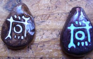 Glyph Pendants: Thief Fan Art by OdinsBeadHall