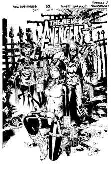 New Avengers 52 cover by TimTownsend