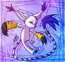 Gatomon power! by Neko-Maya