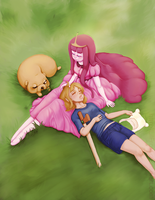 Even Heroes Need Rest | Adventure Time by LilFrost