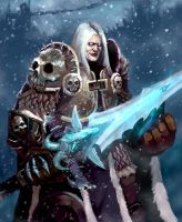 arthas by Puffmix