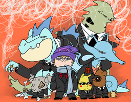Team Professonial by JHALLpokemon