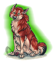 Shinta Transparent Thingy by InsaneRoman