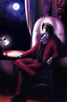 Miles Edgeworth by ikeda
