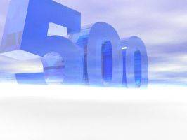 500 pageviews by Forecaster71
