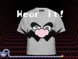 T for Tees: WarioWare by sdws